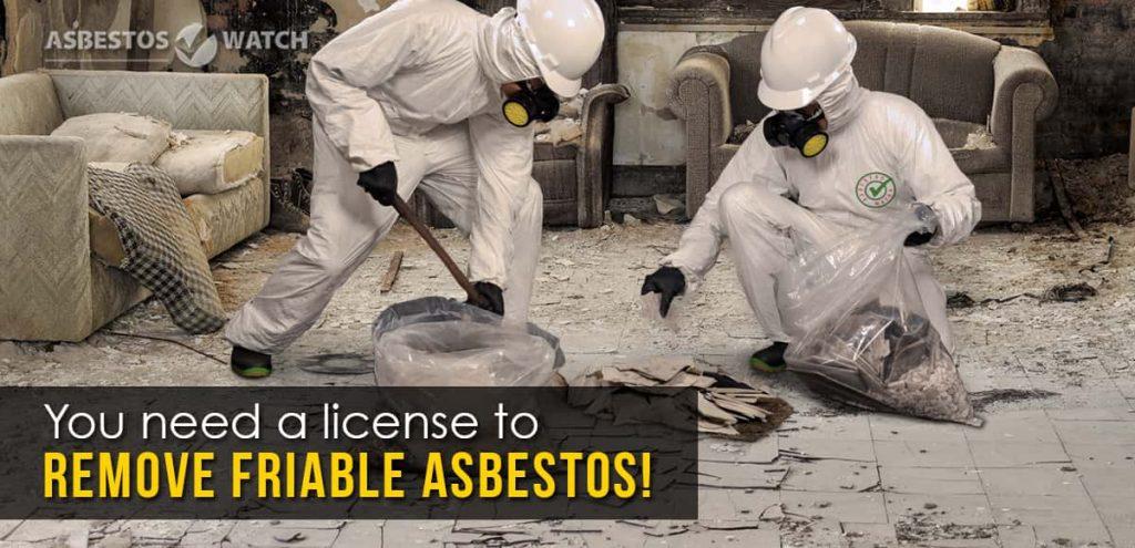 Gold Coast asbetos removal process